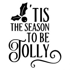 This the season to be jolly