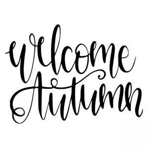 Welcome Autumn Design