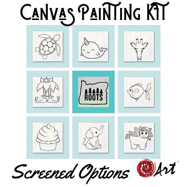 Canvas Painting Screen option kit to go