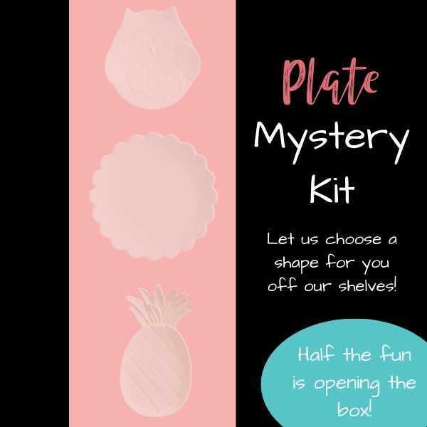 Pottery Plate Mystery Kit