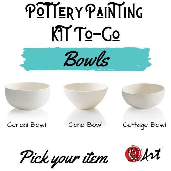 Pottery Painting Kit to go