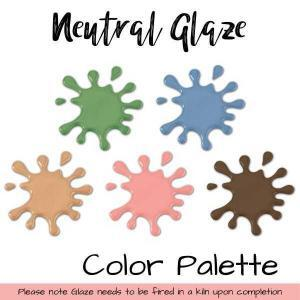 Neutral Glaze paint palette