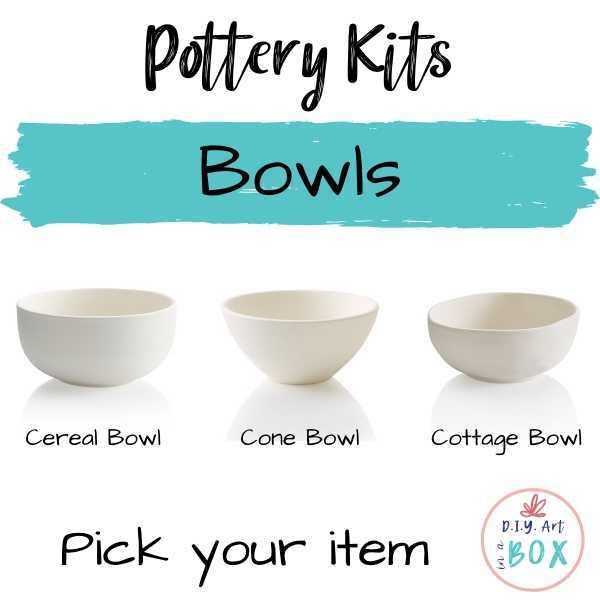 Pottery Bowls pick your item