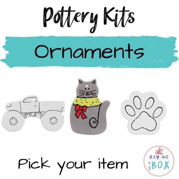 Ornament painting kits