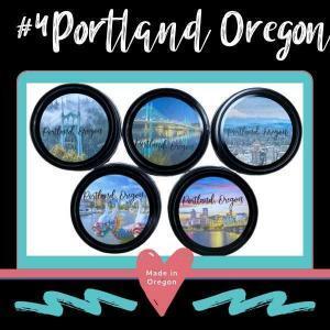 #4 Portland Oregon designs for tin lids
