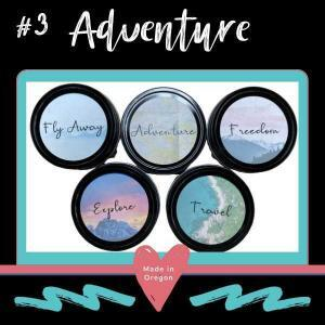 #3 Adventure Candle lid designs Made in Oregon