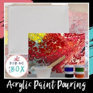 Acrylic Paint Pouring Kits to-go