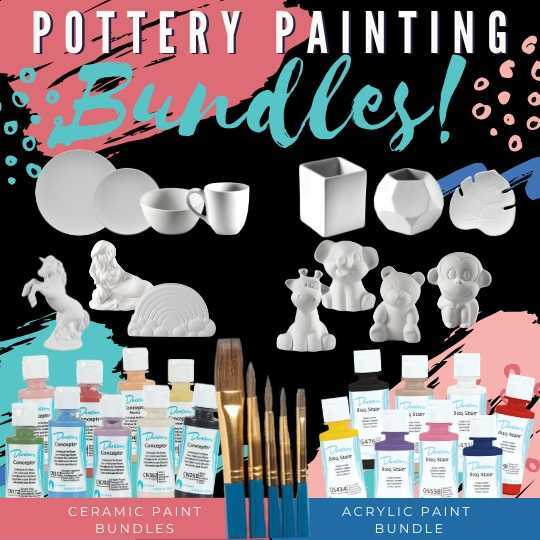 Pottery Painting Bundles
