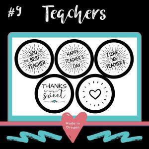 #9 Teachers soy candle making kit tin designs