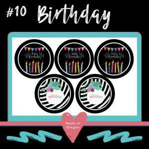 #10 Birthday Do it yourself Soy Candle making tins